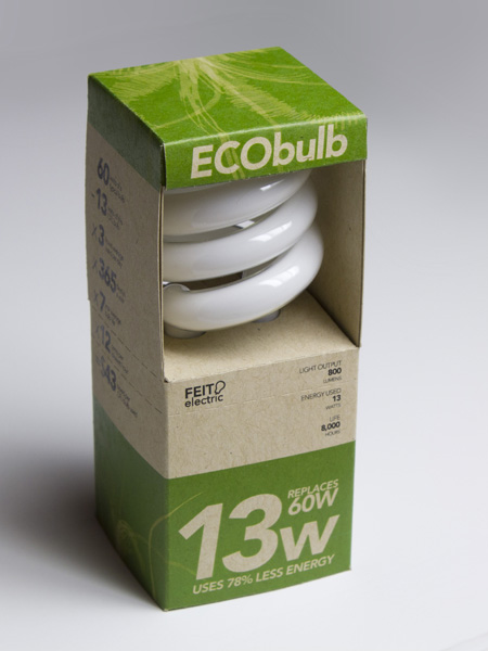Eco Bulb Packaging